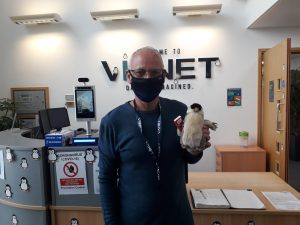 Penguins bring positivity at Vianet on the World Mental Health Day