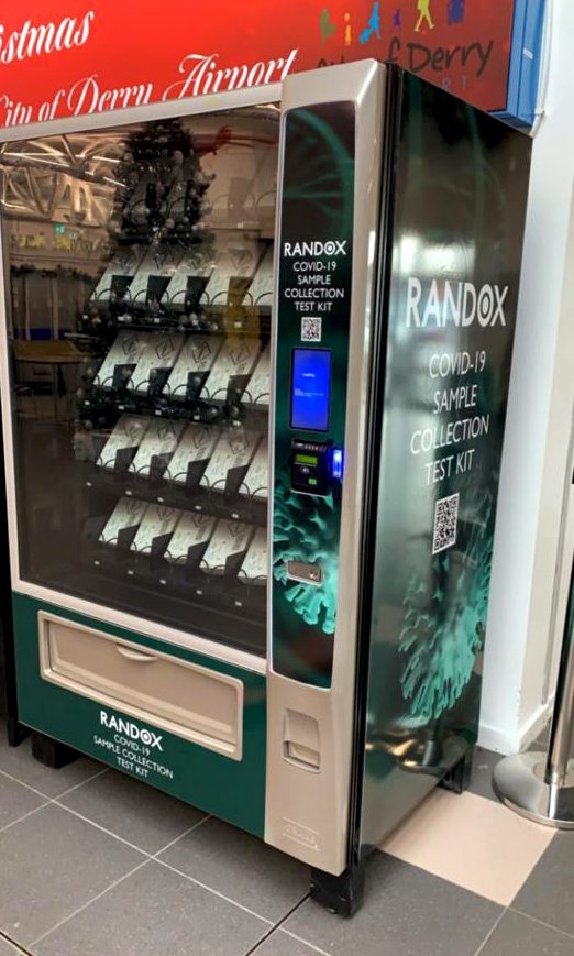 Vianet payment on COVID-19 test vending