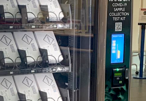 Vianet Redevelops Contactless Payment Devices for COVID-19 Test Vending