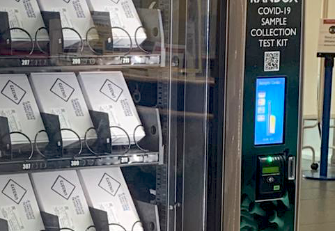 Vianet Payment on Covid19 test vending