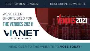 The Vendies: Shortlisted for 'Best Payment System' and 'Best Supplier Website'