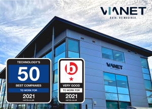 VIANET FEATURED IN TECHNOLOGY'S 50 BEST COMPANIES TO WORK FOR IN 2021